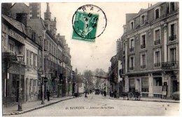 Cpa   Bourges   Avenue De La Gare   TBE - Bourges