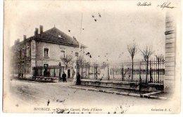 Cpa   Bourges   Quartier Carnot , Porte D'Entée - Bourges