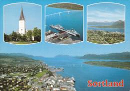 Noruega--1989--Sortland I Vesteralen----a, Francia - Noruega