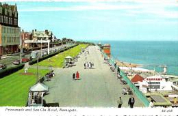 Ramsgate. Promenade And San Clu Hotel. - Ramsgate