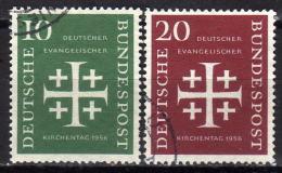 BRD 1956 - MiNr: 235-236 Evangelischer Kirchtag Komplett  Used - Gebraucht