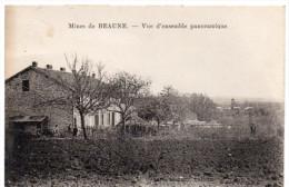 BEAUNE ( Haute Vienne ) -  Les Mines -  Vue D'ensemble Panoramique -  1941 - France