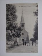 18 TROUY Cher L'église N°696 Animée - Autres Communes