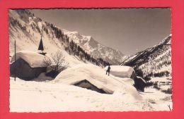 WINTERLANDSCHAFT / PAYSAGE, HIVER, Village Disparaissant Sous La Neige // écrite - Svizzera