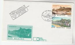1983 SAN MARINO FDC Stamps RIO DE JANEIRO, MOUNTAINS Mountain Cover - FDC