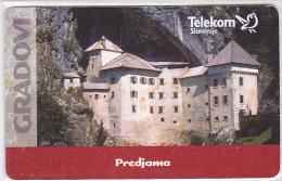 Slovenia  - - -  Castle Predjama  - - -  Chip Card - Slowenien