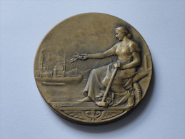CAEN.Médaille CHAMBRE DE METIERS DU CALVADOS (V.4 Clichés) - Autres