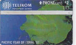 Papua - New Guinea  - - -  Green Coral