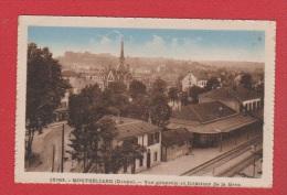 Montbéliard   ---  Vue Générale Et Intérieur De La Gare - Montbéliard
