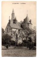 Cpa   Villequiers   . Le Chateau  TBE - France