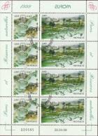 Monaco Kleinbogen Natur- Und Nationalparks, Gestempelt - 1999