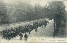 Camp De Beverloo,prise Sur La Chaussée D'Echtel Gelopen Kaart 1905 - Leopoldsburg (Camp De Beverloo)