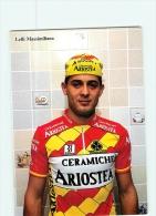 Massimiliano LELLI . 2 Scans. Cyclisme. Ariostea - Cyclisme