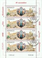 Monaco Kleinbogen Nationale Feste Und Feiertage, Gestempelt - 1998