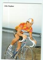 Joho STEPHAN . 2 Scans. Cyclisme. Ariostea 1989 - Cyclisme