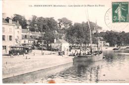 Hennebont:les Quais. - France