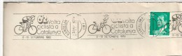 BARCELONA FRAGMENTO RODILLO VOLTA CICLISTA A CATALUNYA 1982 CICLISMO DEPORTE - Ciclismo