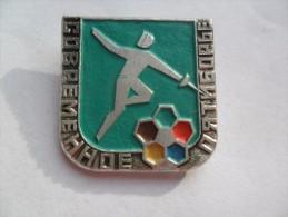 USSR SSSR FENCING  PIN BADGE  Z - Fencing