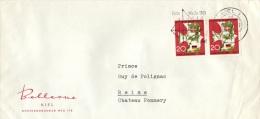 L-ALL152 - ALLEMAGNE N° 271 Sur Lettre De Kiel Pour Reims 1963 - Briefe U. Dokumente