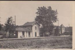 CPA:Beaufort:Le Content Beaufort:Gare - Otros Municipios