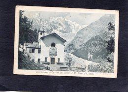 59286    Italia,  Courmayeur -  Berrier  Et  M.  Blanc,  VG  1923 - Italia
