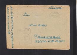 Dt. Reich Feldpost U-Boot Ausbildungsabteilung  Godenstedt 1944 - Briefe U. Dokumente