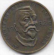 100 BOSQUETIAS 1982 FRAMERIES 150 ANNIVERSAIRE DE BOSQUETIA - Jetons De Communes