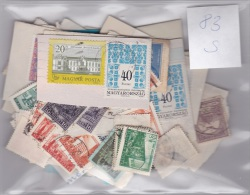 Hungary Used Stamps On And Off Paper (S83) - Lots & Kiloware (max. 999 Stück)