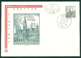ÖSTERREICH - FDC Mi-Nr. 1111 Bauwerke Stempel WIEN (4) - FDC