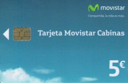 LAST EMISION SPAIN TARJETA MOVISTAR CABINAS 11/15 PHONECARD - Basic Issues
