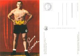 Cartolina Postale Nuova PRIMO CARNERA - IL GIGANTE DI SEQUALS - Pugilato - Personalità Sportive