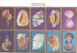 Palau 1984 Shells MNH - Palau