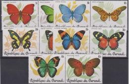 Burundi COB 918/27 Vlinders-Papillons 1984 MNH - 1980-89: Neufs