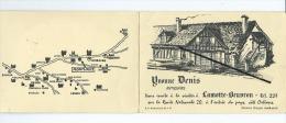 Dépliant Carte De Visite - Lamotte Beuvron Et Montlouis Sur Loire ( Indre Et Loire ) - Tarjetas De Visita