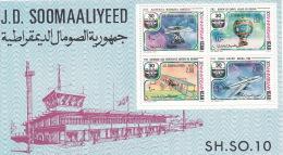 Somalia 1977 ICAO 30th Anniversary Miniature Sheet MNH - Somalia (1960-...)