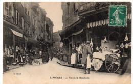 LIMOGES ( Haute Vienne ) -  Rue De La Boucherie -  1910 - Limoges