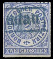 NDP Nr. 5 Gest. (1670015716) - Norddeutscher Postbezirk