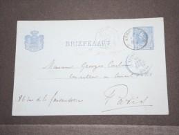 """Pays-Bas - Entier Pour Paris Avec Cachet Rare """"Paris Passy 2e"""" - A Voir - P16931 - Postal Stationery"""