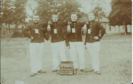 Beverloo,4 Mannen In Uniform Gelopen Kaart 1904 - Leopoldsburg (Camp De Beverloo)