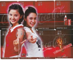 China 2005 Coca Cola Phonecards Serie T09 Used - China