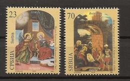 SERBIA 2015,RELIGION,CHRISTMAS,MNH - Serbie