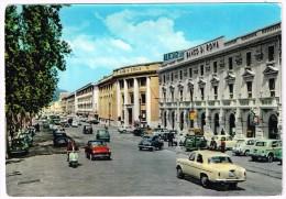 O1865 Messina - Corso Garibaldi - Auto Cars Voitures - Banco Di Roma - Banco Di Sicilia / Viaggiata 1962 - Messina