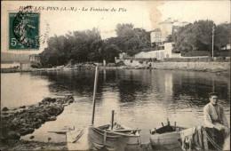06 - JUAN-LES-PINS - Fontaine Du Pin - Antibes
