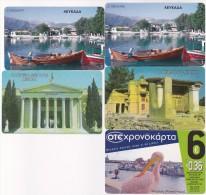 Greece  Lot 5 Used Phonecards Lot 2 - Griekenland