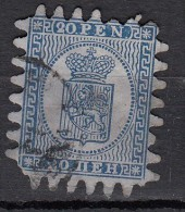 Finlande  20p Bleu   YT N°8 - 1856-1917 Russian Government