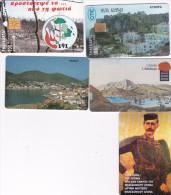 Greece Lot 5 Used Phonecards Lot 3 - Greece