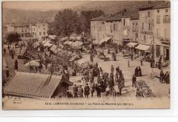 Ardèche : Lamastre : Le Marché - Lamastre