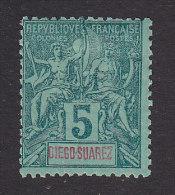 Diego-Suarez, Scott #41, Mint Hinged, Navigation And Commerce, Issued 1892 - Diégo-Suarez (1890-1898)