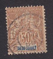 Diego-Suarez, Scott #46, Used, Navigation And Commerce, Issued 1894 - Diego-suarez (1890-1898)
