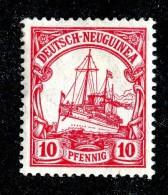 C2855  New Guinea 1914  Michel #22* ( Cat. €4. ) - Colonie: Nouvelle Guinée